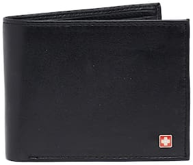 Swiss Military Black Men's Wallet (LW29)