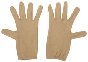 Tahiro Women Cotton Gloves - Yellow