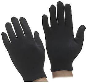 Tahiro Women Cotton Gloves - Black