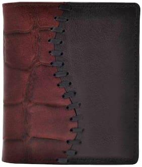 Tamanna Men Brown Leather Bi-Fold Wallet ( Pack of 1 )