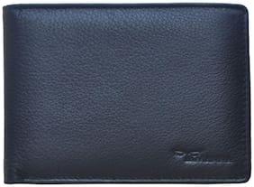 Tamanna Men Black Leather Bi-Fold Wallet ( Pack of 1 )