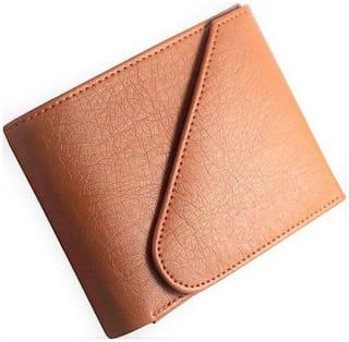 FRIENDS & COMPANY Men Tan Leather Bi-Fold Wallet ( Pack of 1 )
