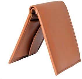 Men Bi-Fold Wallet ( Tan )