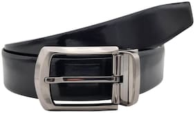 The Armanto Textured Formal Reversible Leather Belt