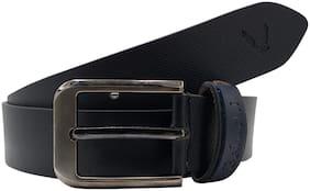 The Black Designer 100% Genuine Leather Belt