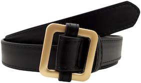 baluchi Women PU Belt - Black