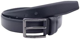 The Black Snake Textured Formal Belt