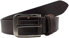 The Brown Designer 100% Genuine Leather Belt