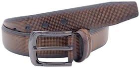 The Brown Honey Textured Formal Belt
