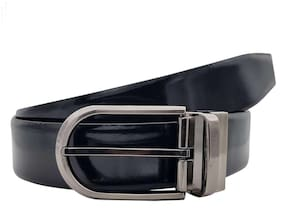 The Melony Textured Formal Reversible Leather Belt