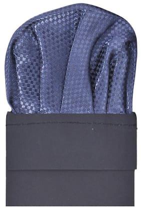 TieKart Polyester Pocket Square - Blue