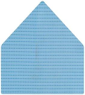 TieKart Micro Fiber Pocket Square - Blue