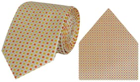 Tiekart-Cool Combos Multi Polka Dot  Tie+Pocketsquare-Gift