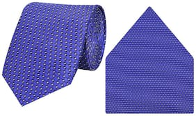 Tiekart-Cool Combos Blue   Tie+Pocketsquare-Gift