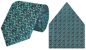 Tiekart-Cool Combos Green   Tie+Pocketsquare-Gift
