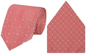 Tiekart-Cool Combos Pink   Tie+Pocketsquare-Gift