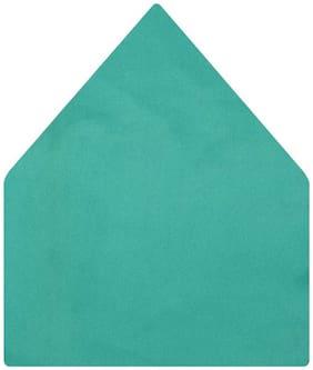 TieKart Satin Pocket Square - Green