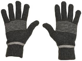 TieKart Men Wool Glove - Grey