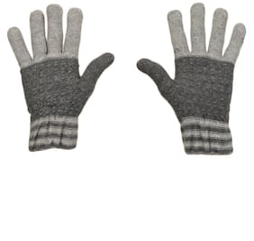 TieKart Men Wool Glove - Grey