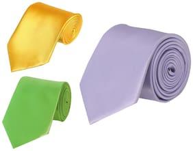 Tiekart-Cool Combos Multi Plain Solids  Set of ties