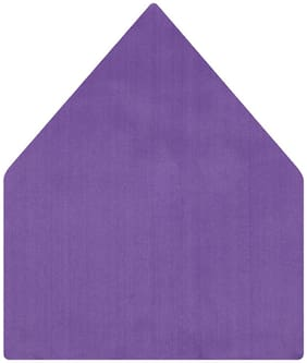 TieKart Satin Pocket Square - Purple