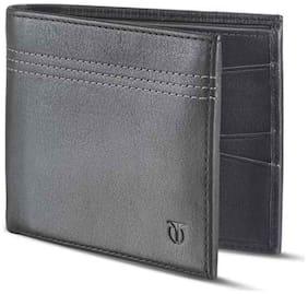 Titan Black Leather Wallet