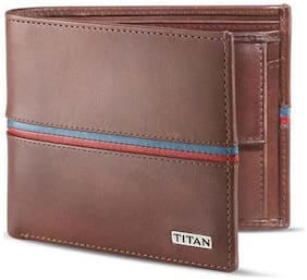 Titan Brown Leather Wallet