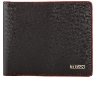 Titan Leather Brown Wallets for Men ID TW181LM1BR