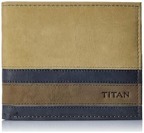 Titan Semi Formal Tan Men's Wallet (TW177LM1TN)