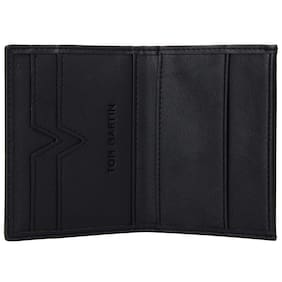 6a2b28a956 TOM MARTIN Men Leather Bi-fold - Black