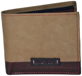 Tommy Hilfiger Oyster Tan/Red/Brown Wallet