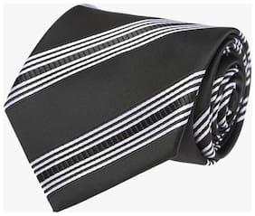 Tossido Black And Grey Necktie