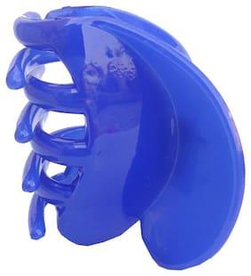 Trendeela.Com Women Hair claw ( Blue , Set of 1 )
