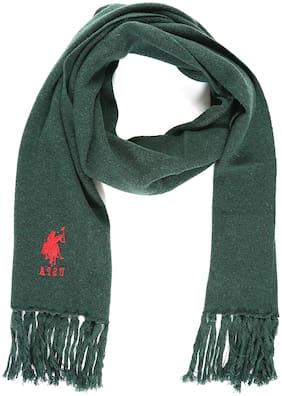 U.S. Polo Assn. Men Wool Muffler - Green