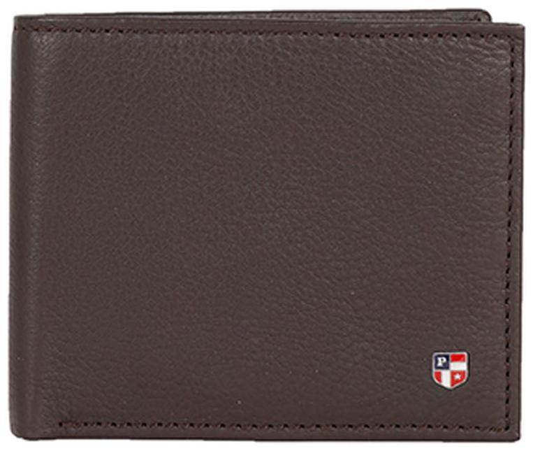 U.S. Polo Assn. Men Brown Leather Bi Fold Wallet by Kapsons Retail