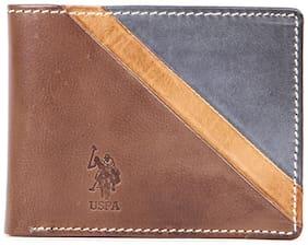 U.S. Polo Assn. Men Leather Wallet