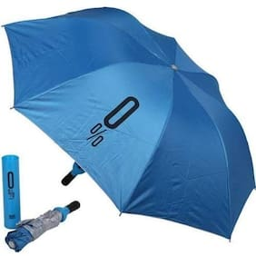 BAZAAR GALI Unisex Nylon Assorted Umbrella ( 3 fold , Pack of 1 )