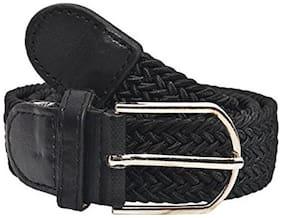 New Pinch Unisex Canvas Belt - Black