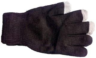 TZS Unisex Wool Glove - Brown