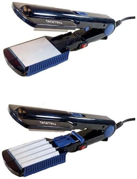 V&G 461-2 Two-in-One Electric Crimper Cum Straightener