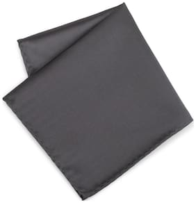 Van Heusen Synthetic leather Pocket Square - Grey