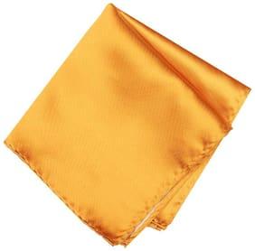 Van Heusen Silk Pocket Square - Yellow