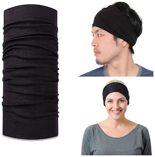 Verceys Mens Japanese Elastic Cotton HeadWrap Bandana - ( Free Size )