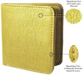 VINISHA ENTERPRISE Men Beige Leather Bi-Fold Wallet ( Pack of 1 )