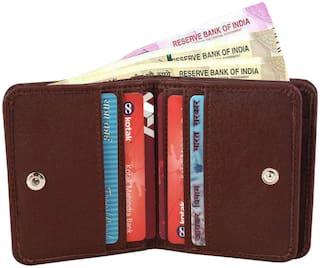 VINISHA ENTERPRISE Men Brown Leather Bi-Fold Wallet ( Pack of 1 )