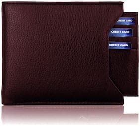 VINISHA ENTERPRISE Men Brown Pu Money Clip Wallet ( Pack of 1 )