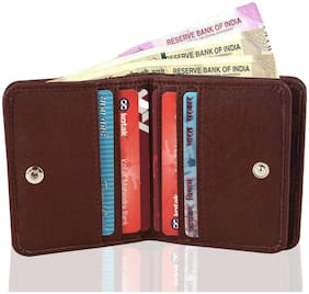 VINISHA ENTERPRISE Men Brown Leather Money Clip Wallet ( Pack of 1 )