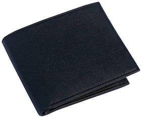 VINSAGE Men Black Pu Bi-Fold Wallet ( Pack of 1 )