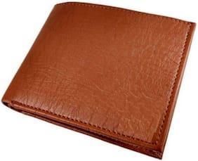 VINSAGE Men Tan Pu Bi-Fold Wallet ( Pack of 1 )
