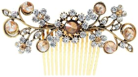Vogue Hair Accessories Exclusive Collection Wedding Party Fancy Bridal Comb Hair Clip Oxidised Hair Accessories Premium Quality